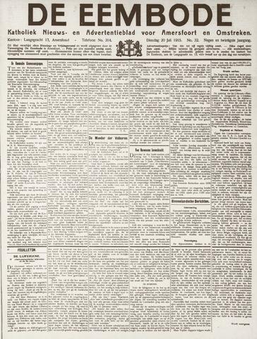 De Eembode 1915-07-20
