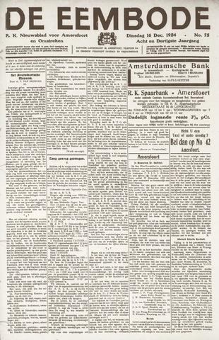 De Eembode 1924-12-16