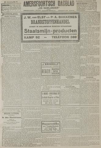 Amersfoortsch Dagblad / De Eemlander 1922-09-14