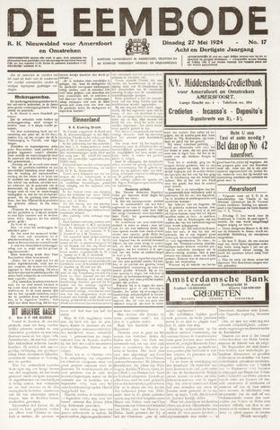 De Eembode 1924-05-27