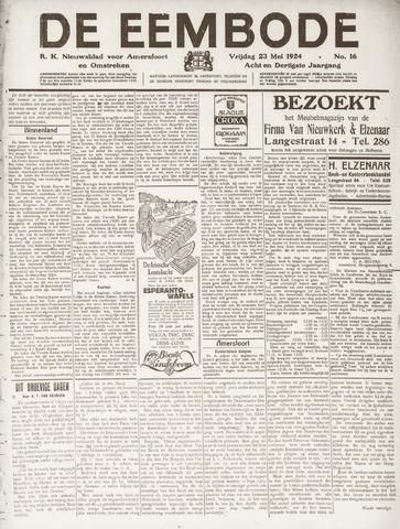 De Eembode 1924-05-23
