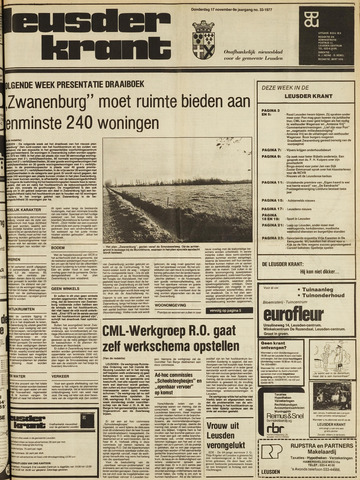 Leusder Krant 1977-11-17