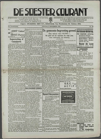 Soester Courant 1940-12-13