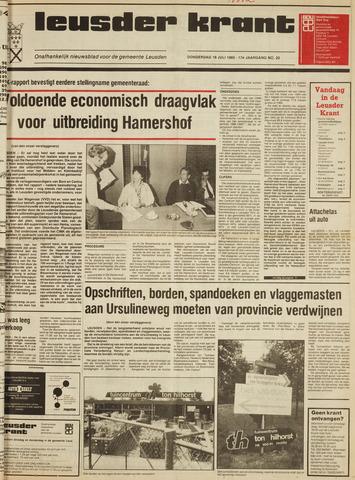 Leusder Krant 1985-07-18