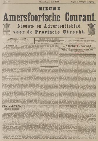 Nieuwe Amersfoortsche Courant 1910-07-13
