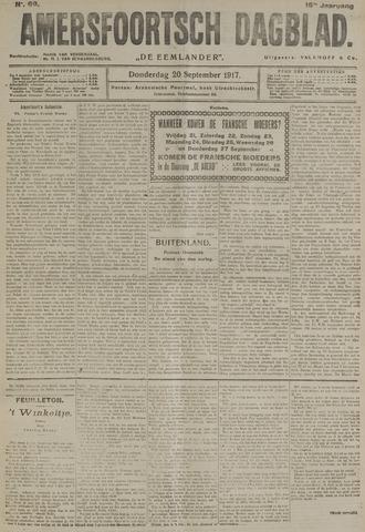 Amersfoortsch Dagblad / De Eemlander 1917-09-20