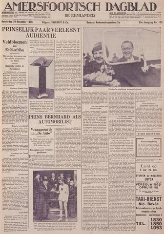 Amersfoortsch Dagblad / De Eemlander 1936-12-31
