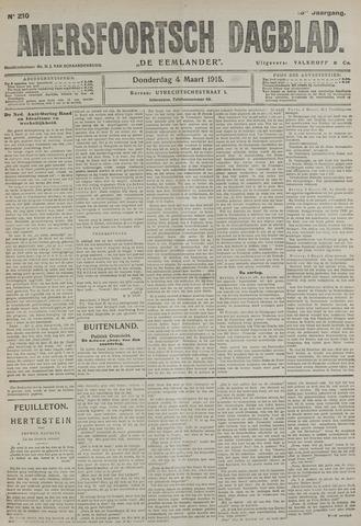 Amersfoortsch Dagblad / De Eemlander 1915-03-04