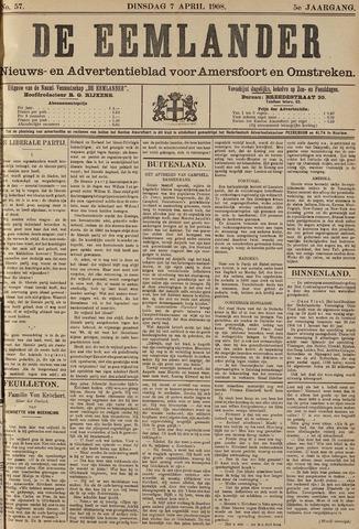 De Eemlander 1908-04-07