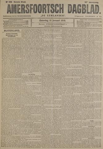 Amersfoortsch Dagblad / De Eemlander 1916-01-15