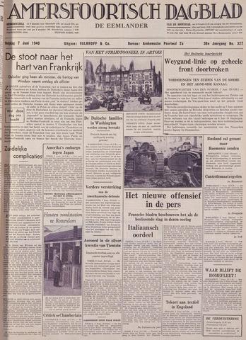 Amersfoortsch Dagblad / De Eemlander 1940-06-07