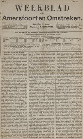 Weekblad voor Amersfoort en Omstreken 1873-03-22