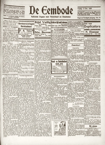 De Eembode 1935-12-13