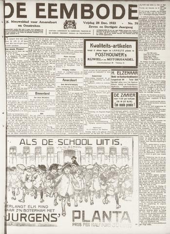 De Eembode 1923-12-28