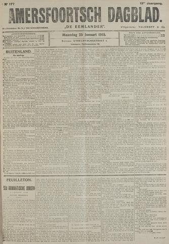 Amersfoortsch Dagblad / De Eemlander 1915-01-25