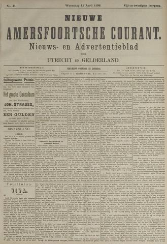 Nieuwe Amersfoortsche Courant 1896-04-15