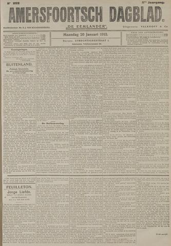 Amersfoortsch Dagblad / De Eemlander 1913-01-20