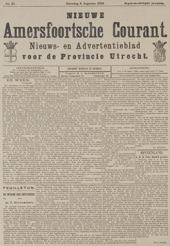 Nieuwe Amersfoortsche Courant 1910-08-06