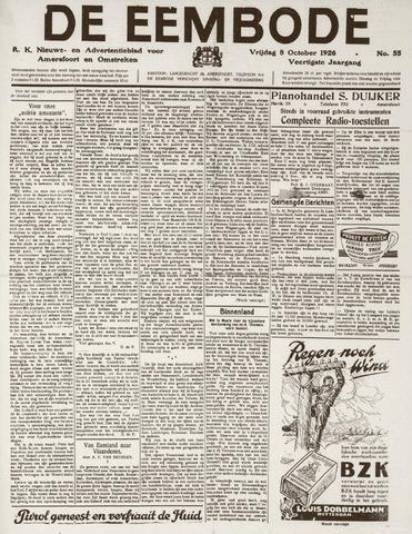 De Eembode 1926-10-08