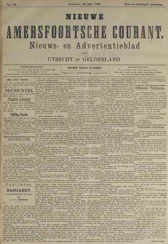 Nieuwe Amersfoortsche Courant 1895-07-20