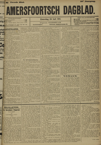 Amersfoortsch Dagblad 1911-07-29