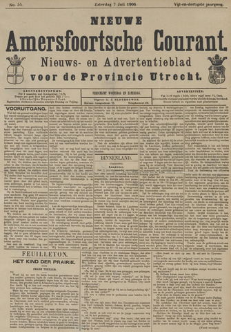 Nieuwe Amersfoortsche Courant 1906-07-07