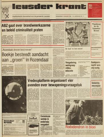 Leusder Krant 1985-01-03