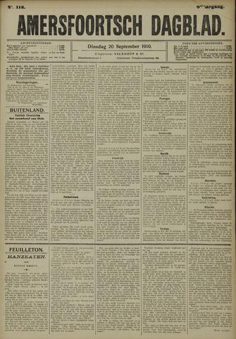 Amersfoortsch Dagblad 1910-09-20