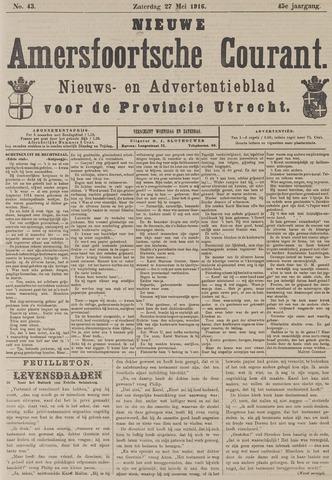 Nieuwe Amersfoortsche Courant 1916-05-27