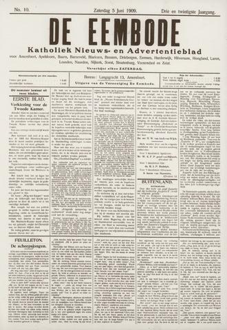 De Eembode 1909-06-05