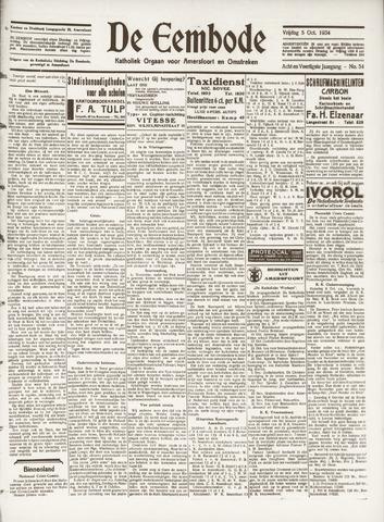 De Eembode 1934-10-05