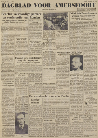 Dagblad voor Amersfoort 1948-02-20