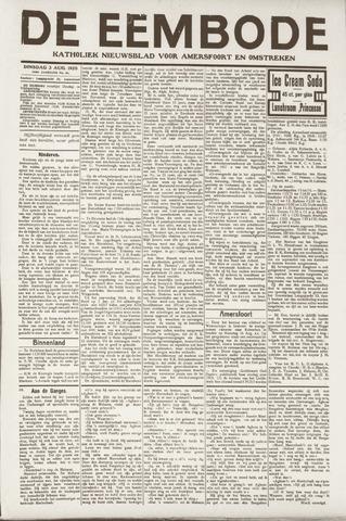 De Eembode 1920-08-03