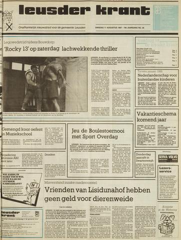 Leusder Krant 1987-08-11