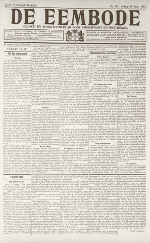 De Eembode 1913-09-19