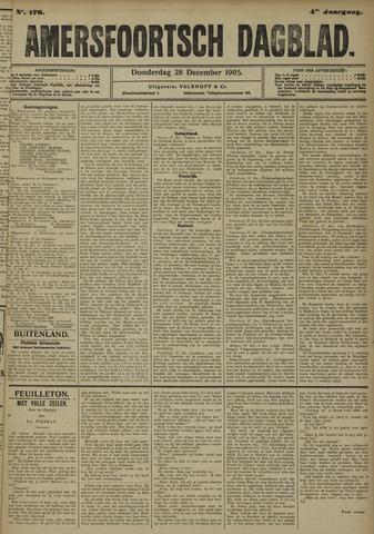 Amersfoortsch Dagblad 1905-12-28