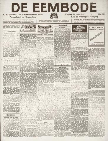 De Eembode 1927-07-22