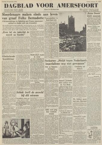 Dagblad voor Amersfoort 1948-09-18