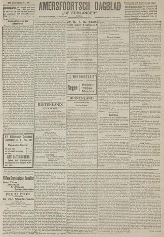 Amersfoortsch Dagblad / De Eemlander 1922-09-20