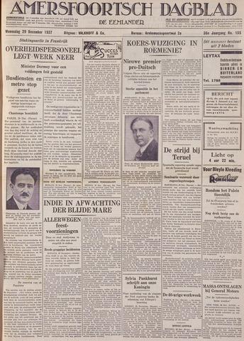 Amersfoortsch Dagblad / De Eemlander 1937-12-29
