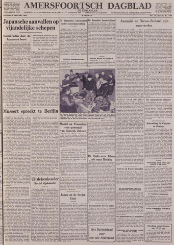 Amersfoortsch Dagblad / De Eemlander 1942-01-06