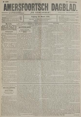 Amersfoortsch Dagblad / De Eemlander 1916-03-24