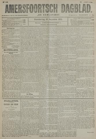 Amersfoortsch Dagblad / De Eemlander 1915-08-19