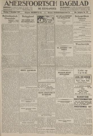 Amersfoortsch Dagblad / De Eemlander 1931-11-17