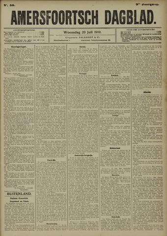Amersfoortsch Dagblad 1910-07-20