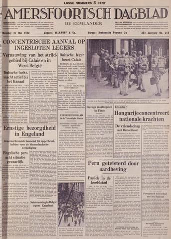 Amersfoortsch Dagblad / De Eemlander 1940-05-27