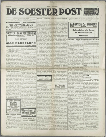 Soester Courant 1931-08-28