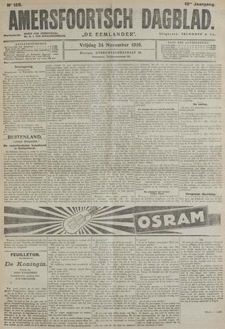 Amersfoortsch Dagblad / De Eemlander 1916-11-24