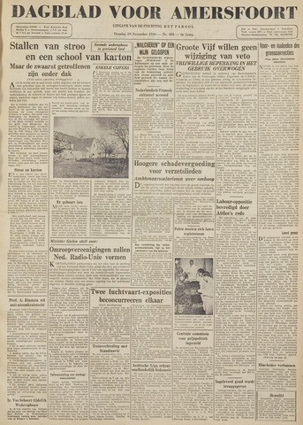 Dagblad voor Amersfoort 1946-11-19
