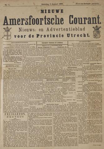 Nieuwe Amersfoortsche Courant 1903-01-03